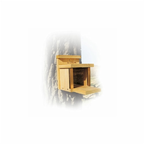 WoodLink SQF3 Squirrel Lunch Box Squirrel Feeder Perspective: front