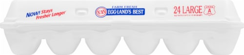 Eggland's Best Grade AA Large Eggs Perspective: front