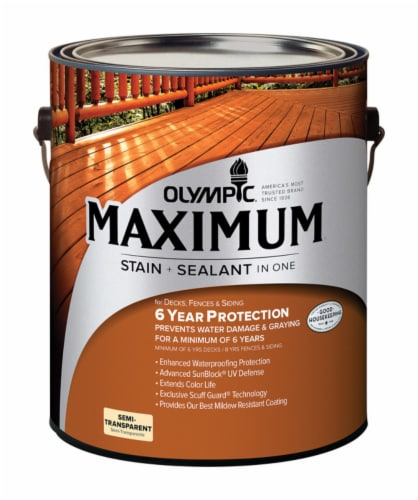 Olympic Maximum Stain & Sealant Perspective: front