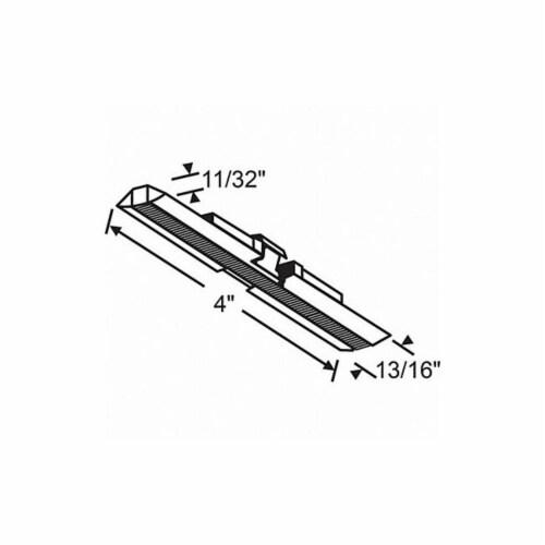Sim Supply Door Slide Guide,Nylon/Steel,4 L  2-92 Perspective: front