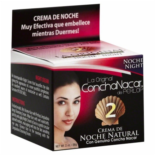 Concha Nacar Night Cream Perspective: front