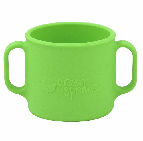 Green Sprouts  Learning Cup-Green-12mo+ Perspective: front