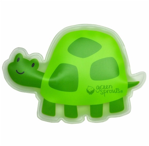 Green Sprouts Turtle Cool Calm Press - Green Perspective: front