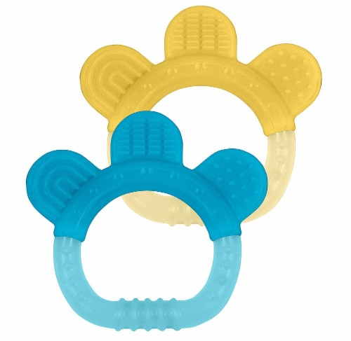 Green Sprouts Silicone Teether Twin Pack Perspective: front