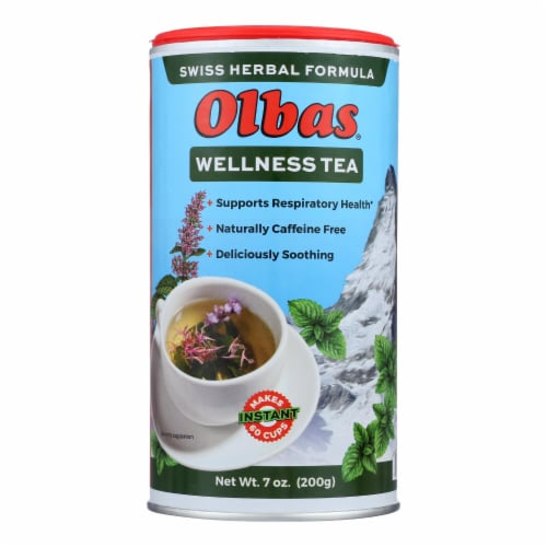 OLBAS Instant Herbal Tea Perspective: front