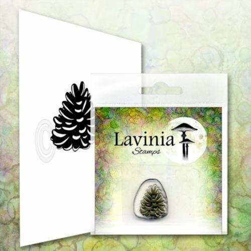 Lavinia Stamps Mini Pine Cone Perspective: front