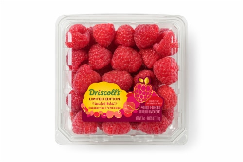 Driscoll's Limited Edition Sweetest Batch Raspberries Perspective: front