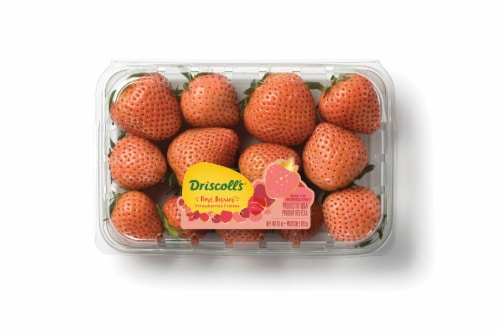 Driscoll's Limited Edition Rose Strawberries Perspective: front