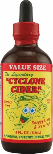 Imperial Elixir Cyclone Cider Herbal Tonic Perspective: front