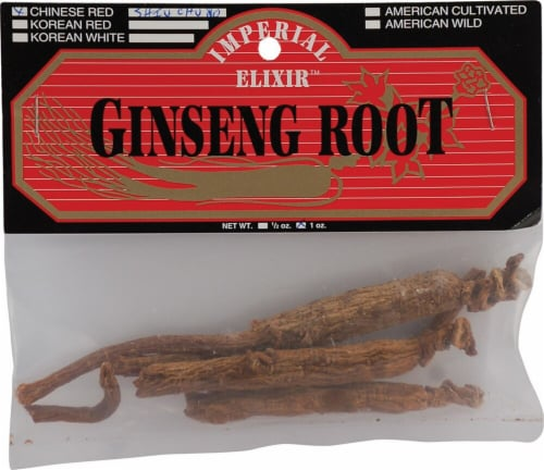 Imperial Elixir Ginseng Root Perspective: front
