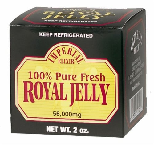 Imperial Elixir Royal Jelly Perspective: front