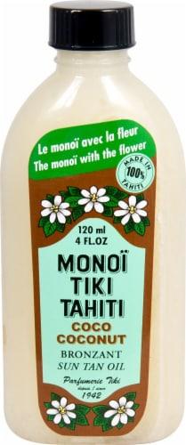 Monoi Tiare Tahiti  Suntan Oil with Sunscreen Coco Coconut Perspective: front