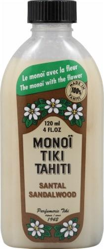 Monoi Tiare Tahiti  Coconut Oil Santal Sandalwood Perspective: front