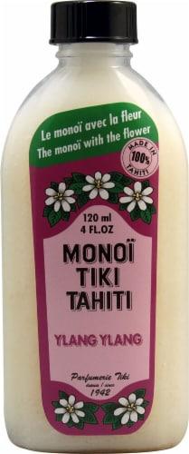Monoi Tiare Tahiti  Monoi Tiki Tahiti Ylang Ylang Oil Perspective: front