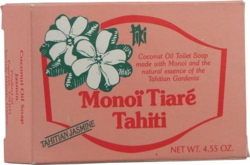 Monoi Tiare Tahiti Toilet Bar Soap Tahitian Jasmine Coconut Oil Perspective: front