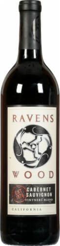 Ravenswood Cabernet Sauvignon Red Wine Perspective: front
