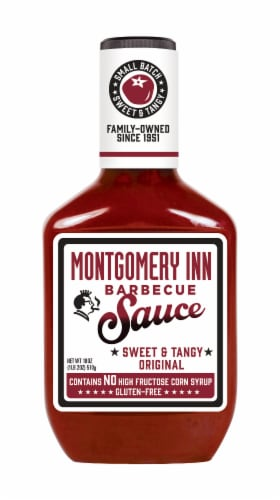 Montgomery Inn Sweet & Tangy Original Barbecue Sauce Perspective: front