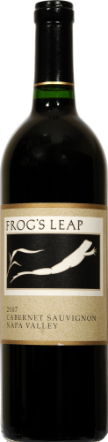 Frog's Leap Winery Cabernet Sauvignon Perspective: front