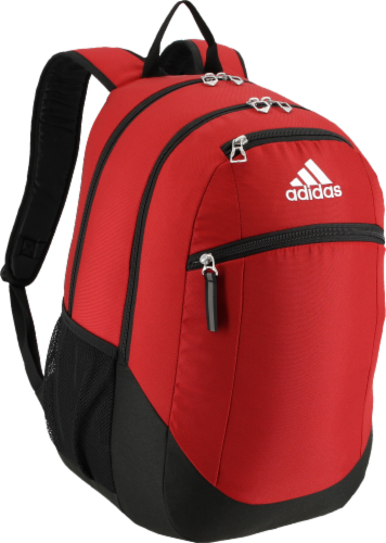 adidas Striker II Backpack - Power Red/Black/White Perspective: front