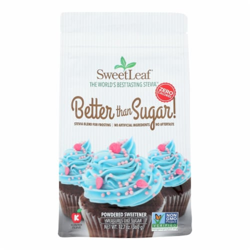 Sweet Leaf - Stevia Baking Powdered - 1 Each - 12.7 OZ Perspective: front