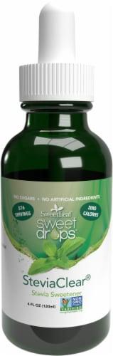 Sweetleaf Sweet Drops Steviaclear Liquid Stevia Perspective: front