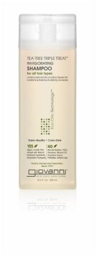 Giovanni Tea Tree Triple Treat Invigorating Shampoo Perspective: front