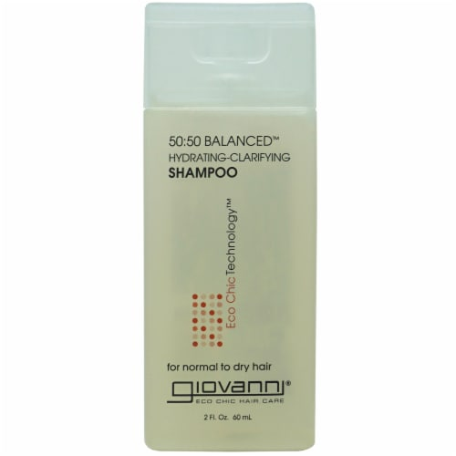 Giovanni 50:50 Balanced Hydrating-Clarifying Shampoo Perspective: front
