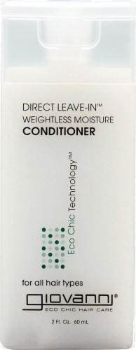 Giovanni Direct Leave-In Weightless Moisture Conditioner Perspective: front