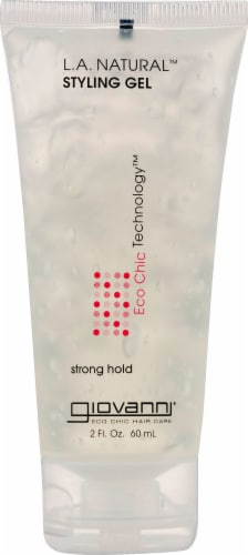Giovanni L.A. Natural Strong Hold Styling Gel Perspective: front
