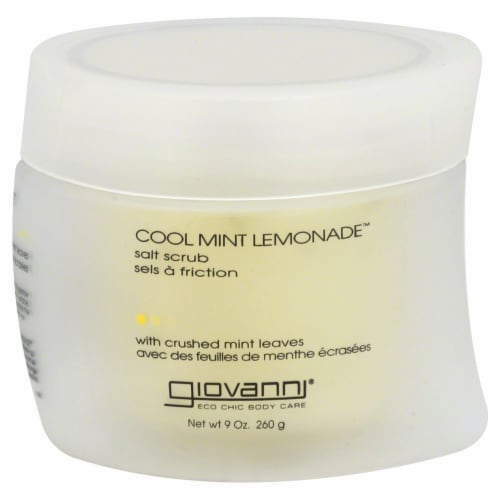 Giovanni Cool Mint Lemonade Salt Scrub Perspective: front