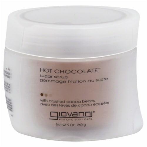 Giovanni Hot Chocolate Sugar Scrub Perspective: front