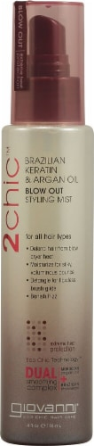 Giovanni  2chic® Ultra Sleek Blow Out Styling Mist with Brazilian Keratin and Argan Oil Perspective: front