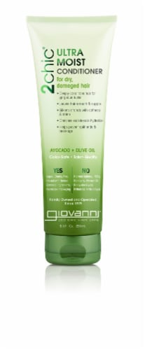 Giovanni 2chic Ultra-Moist Avocado & Olive Oil Conditioner Perspective: front
