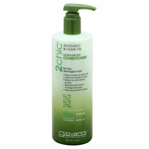 Giovanni 2chic Avocado & Olive Oil Ultra Moisture Conditioner Perspective: front