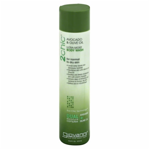 Giovanni Avocado And Olive Oil Ultra Moist Body Wash Perspective: front