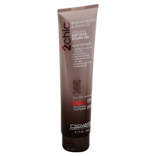 Giovanni 2chic Ultra Sleek Soft Hold Styling Gel Perspective: front