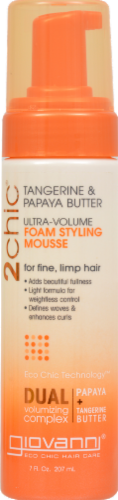 Giovanni Ultra-Volume Foam Styling Mousse Perspective: front
