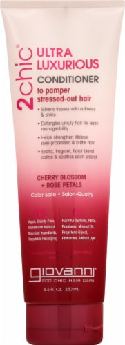 2chic Cherry Blossom & Rose Petals Ultra Luxurious Conditioner Perspective: front