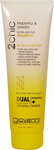 Giovanni  2chic® Ultra-Revive Shampoo with Pineapple & Ginger Perspective: front