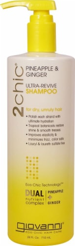 Giovanni 2chic Pineapple & Ginger Ultra-Revive Shampoo Perspective: front