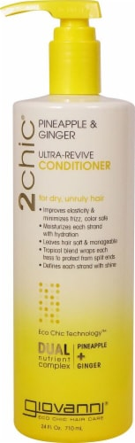 Giovanni 2chic Pineapple & Ginger Ultra-Revive Conditioner Perspective: front