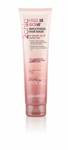 Giovanni  2chic® Frizz Be Gone™ Smoothing Hair Mask Shea Butter & Sweet Almond Oil Perspective: front