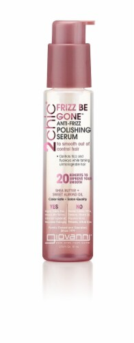 Giovanni  Frizz Be Gone™ Polishing Serum Shea Butter & Sweet Almond Oil Perspective: front