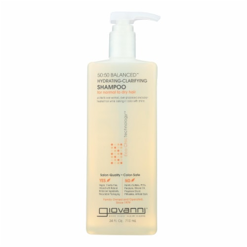 Giovanni Hair Care Products - Shampoo 50:50 Balance Hydrating - 24 FZ Perspective: front