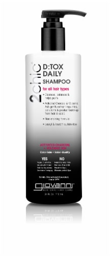2chic D:Tox Daily Shampoo Perspective: front