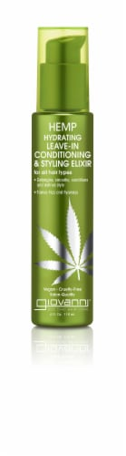 Giovanni Hemp hydrating Leave-in Conditioning & Styling Elixir Perspective: front