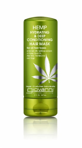 Giovanni Hemp Hydrating & Deep Conditioning Hair Mask Perspective: front