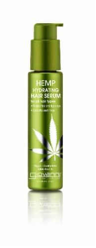 Giovanni Hemp Hydrating Hair Serum Perspective: front