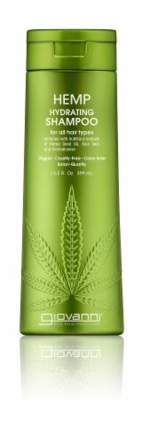 Giovanni Hemp Hydrating Shampoo Perspective: front