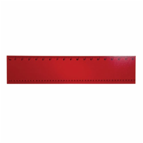 Guidecraft G6516 Ruler Red Perspective: front